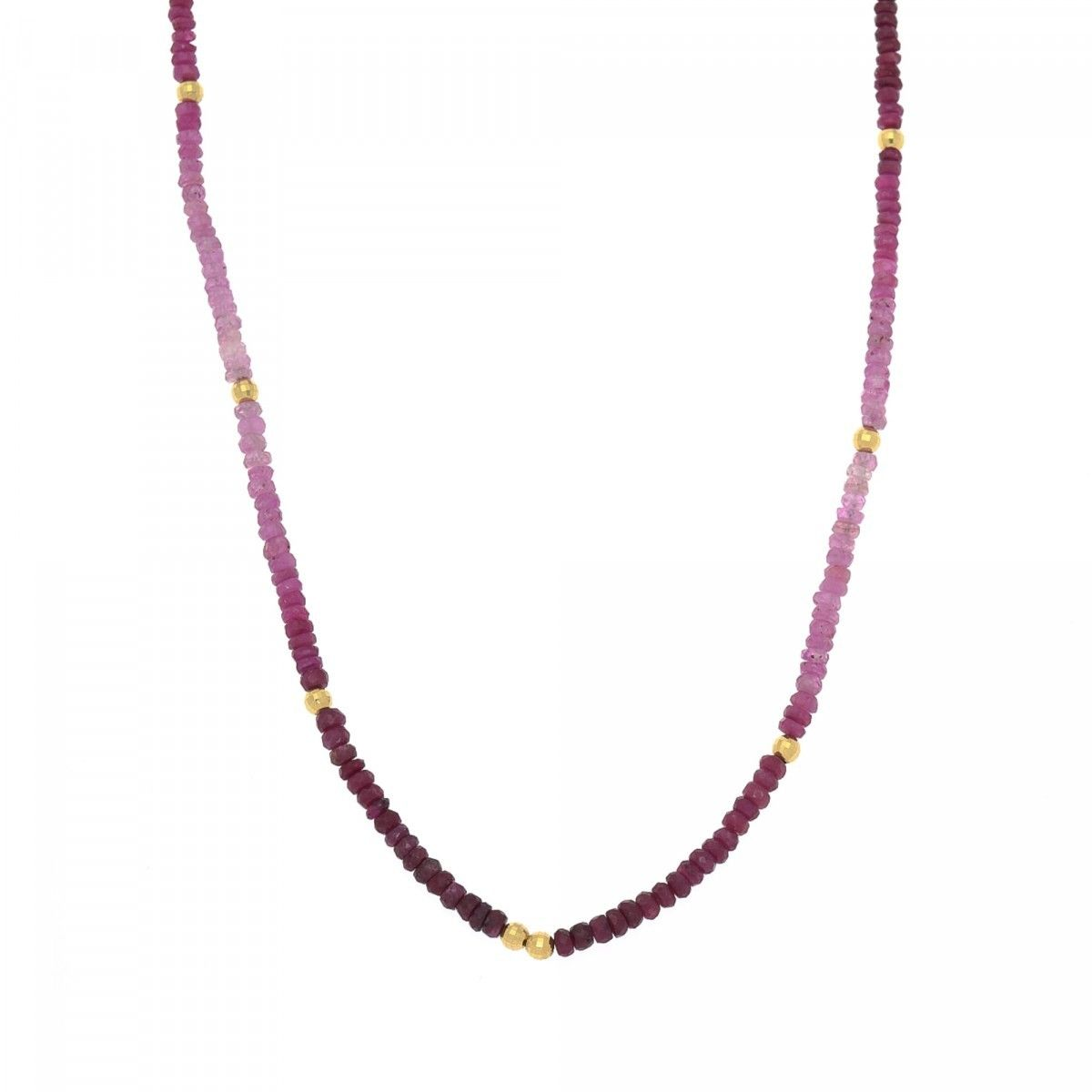 stationed rickis stone rhodium res necklace purple hi