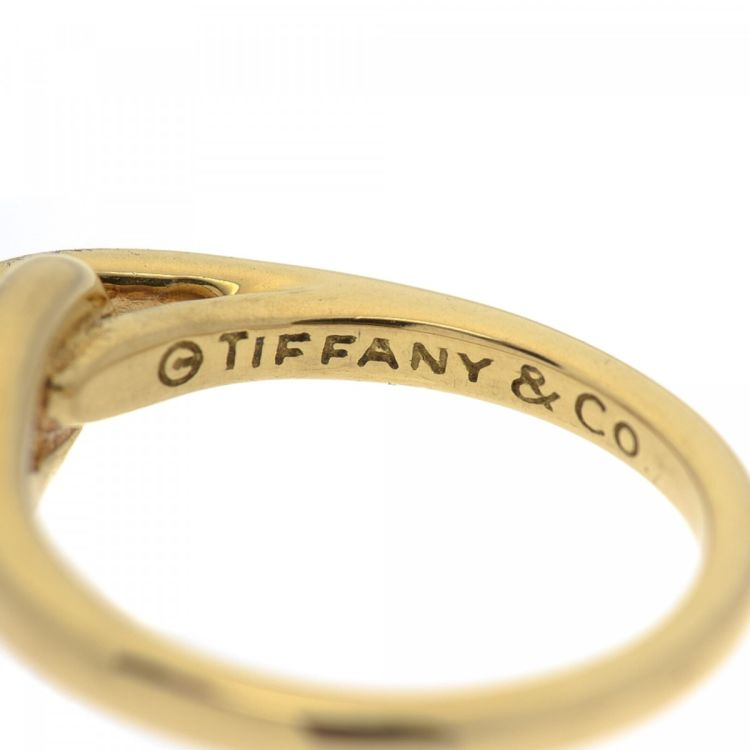 Tiffany Paloma Picasso Knot Ring US 6 / FR 52 Gold - LXRandCo ...