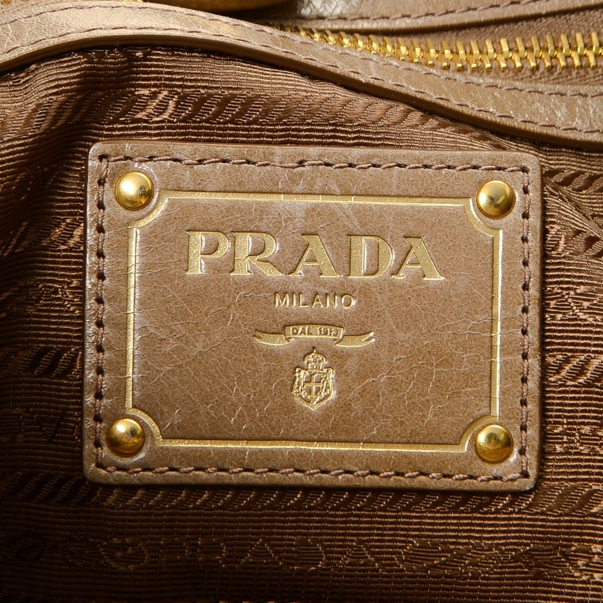 b5026c2ec690 Prada Vitello Two Way Tote. LXRandCo guarantees the authenticity of this  vintage ...
