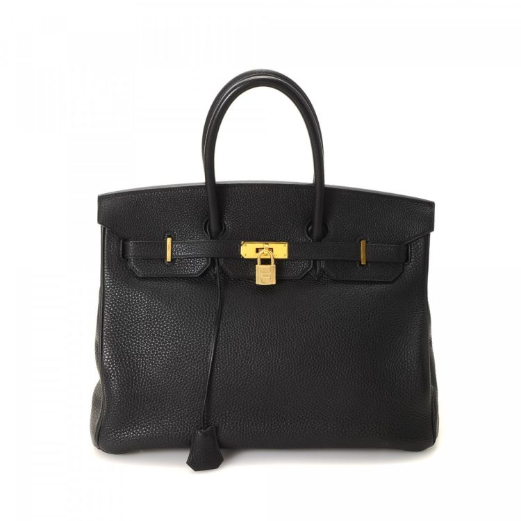 ... new zealand lxrandco guarantees this is an authentic vintage hermès  birkin 35 black ghw handbag. ef6a2d1313be4