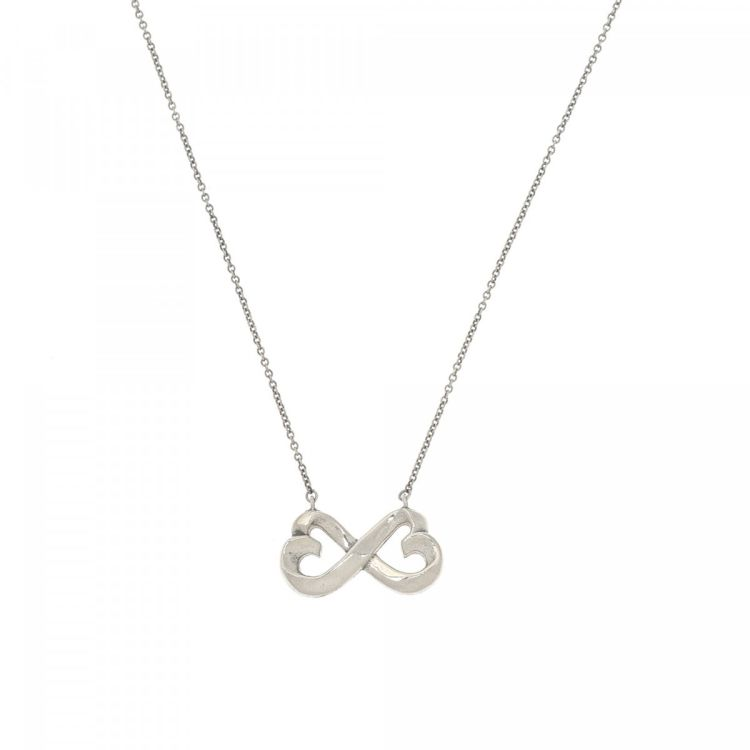 a65671403 Tiffany Paloma Picasso Loving Heart Necklace 40cm 925 Sterling ...
