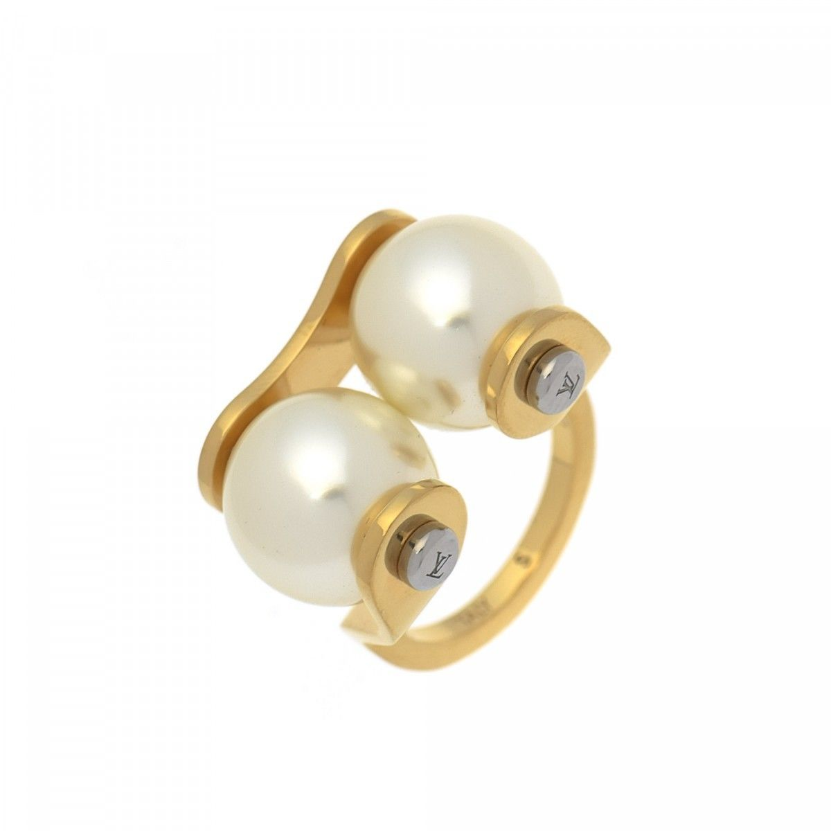 white freshwater pearl with gold ring cultured v three zales slant stone rings c in