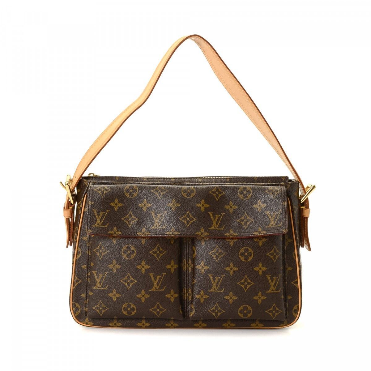 Louis Vuitton Cite Gm Monogram Canvas Shoulder Bag obBV0J