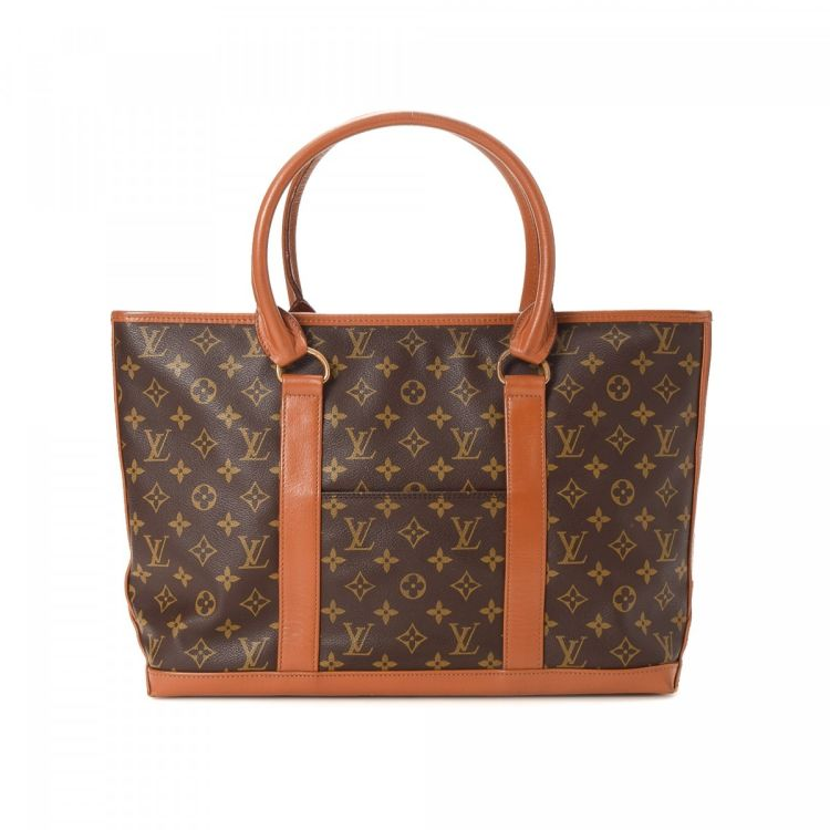 938bf7f7c Louis Vuitton Sac Weekend PM Monogram Coated Canvas - LXRandCo - Pre ...