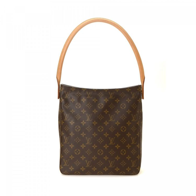 d0be7957d633 ... authentic vintage Louis Vuitton Looping GM shoulder bag. Crafted in  monogram coated canvas