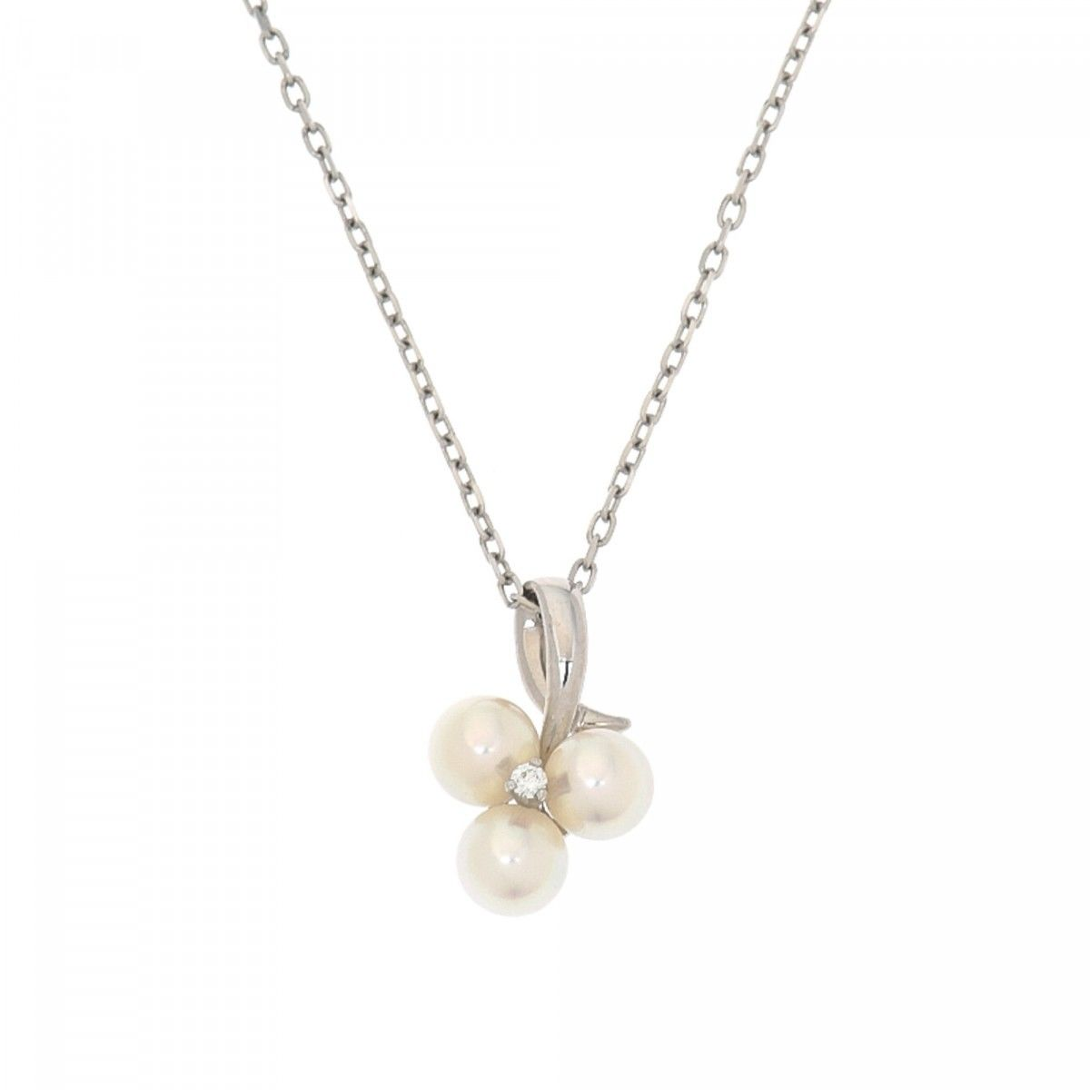necklaces mikimoto gold pearl us large diamond necklace en estate white jewelry