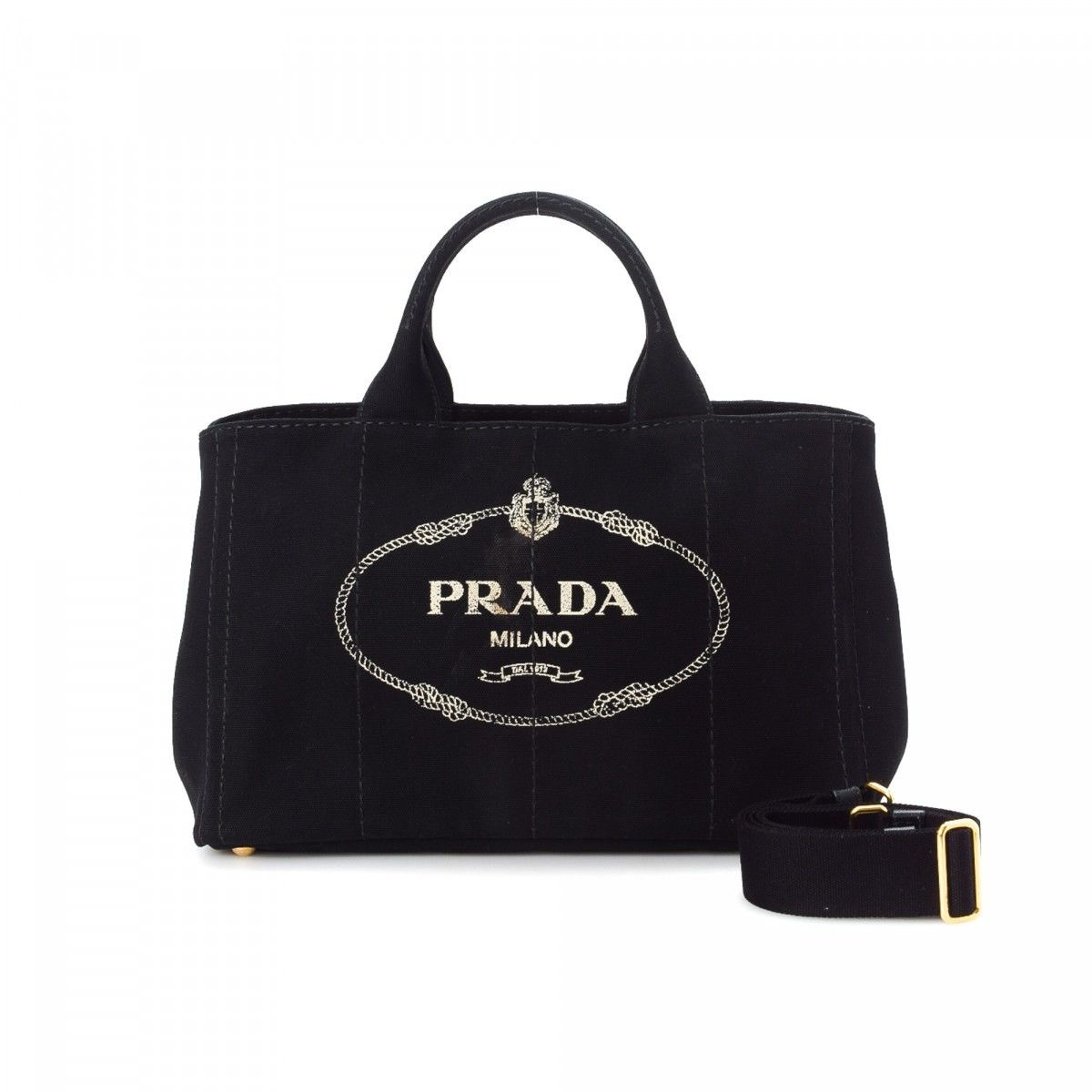 Black Giardiniera shopping bag Prada cAZvD