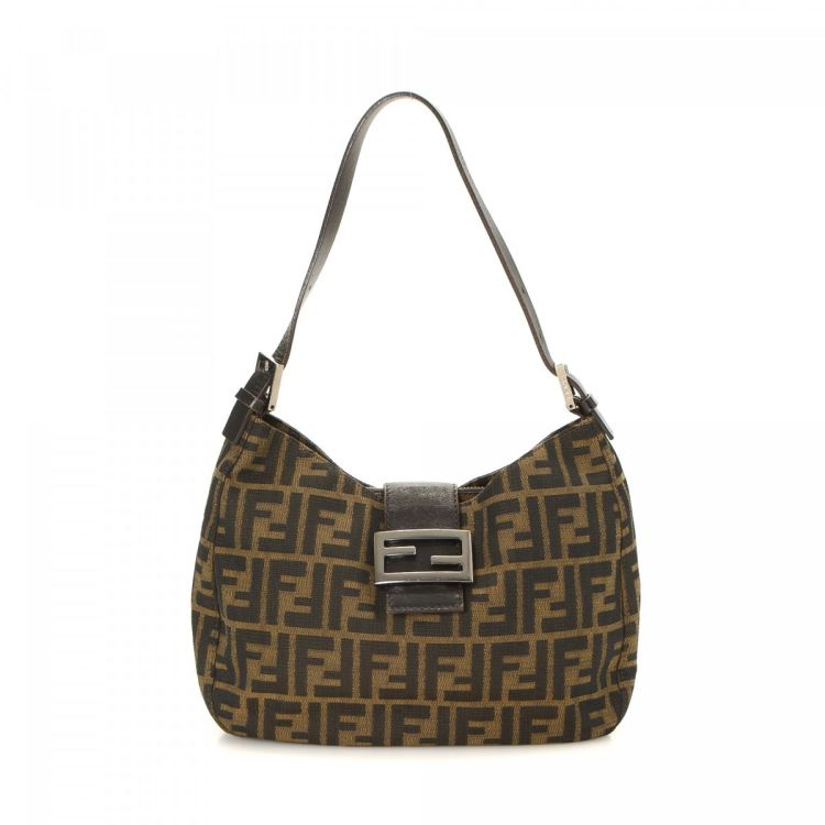 8cae689381b3 ... wholesale lxrandco guarantees this is an authentic vintage fendi  handbag. this signature purse in brown ...