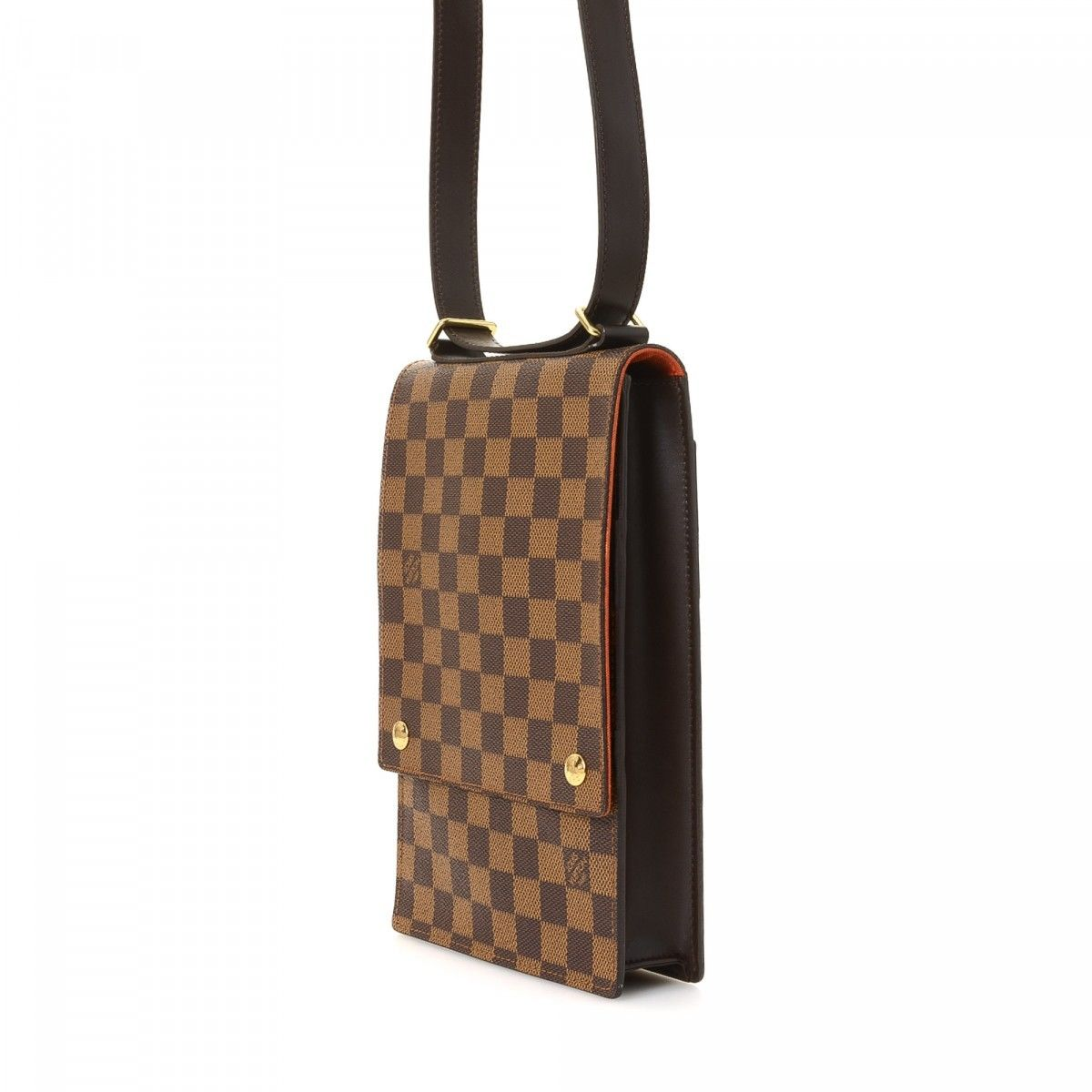 3e27503695be Louis Vuitton Portobello Crossbody Damier Ebene Coated Canvas ...