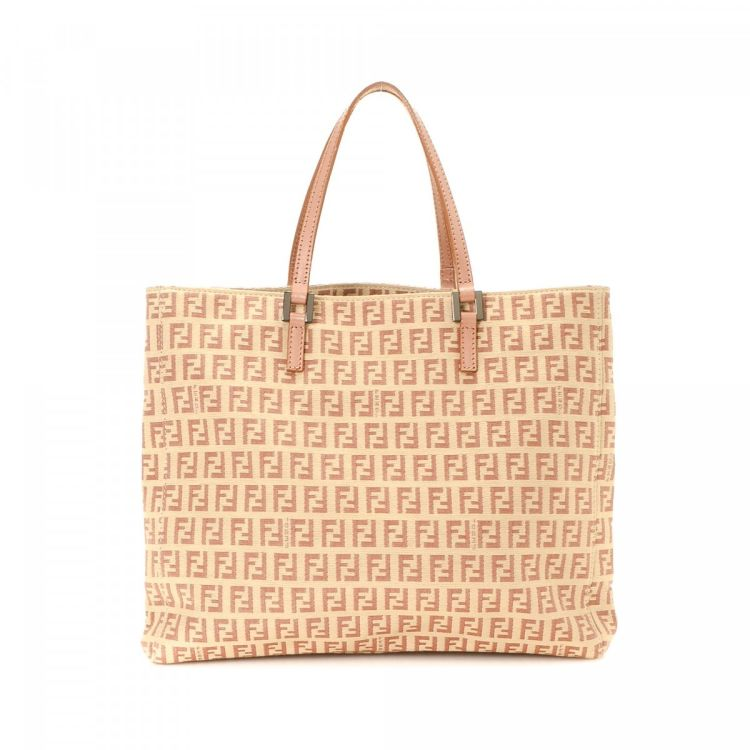 5e2f718ea6c9 ... closeout fendi zucchino tote bag zucchino canvas lxrandco pre owned  luxury vintage e6826 ccb8c