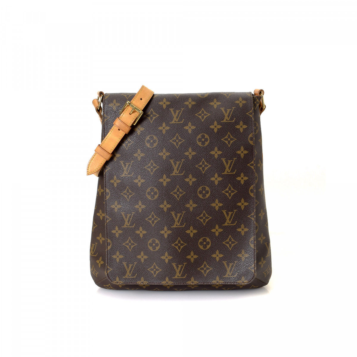 Louis Vuitton Musette Monogram Coated Canvas - LXRandCo - Pre-Owned ... c14b9a365b821