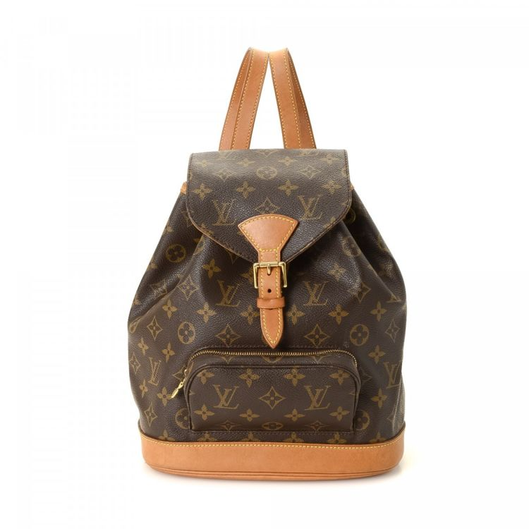 334dc48e65c This product is in store at Hudson s Bay Chinook. LXRandCo guarantees this  is an authentic vintage Louis Vuitton Montsouris MM backpack.