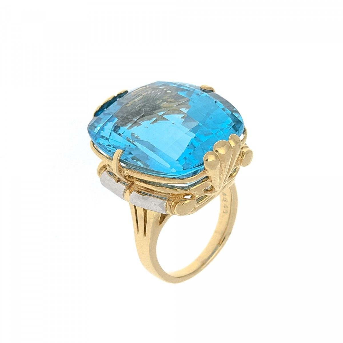 p plated cushion topaz white over rings ring in sterling halo cut blue gold silver