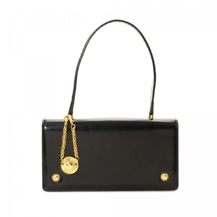 fb34b85b9cf This product is in store at Lord & Taylor Syracuse. LXRandCo guarantees the authenticity  of this vintage Versace Sun Face shoulder bag.