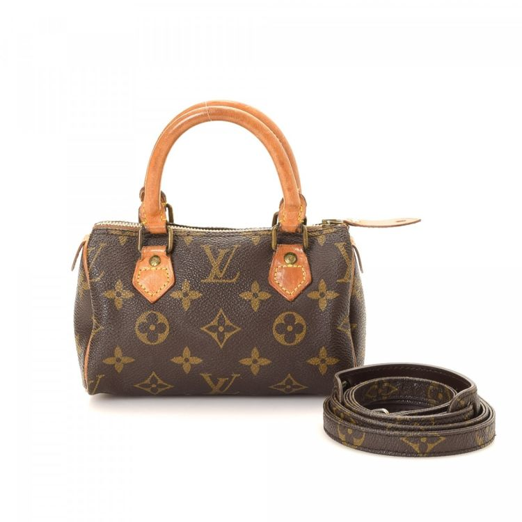 Louis Vuitton Mini Sac Hl Sdy Monogram Coated Canvas Lxrandco Pre Owned Luxury Vintage