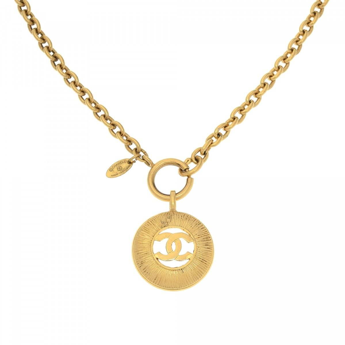 necklace round product sun gems pendant citrine spirit