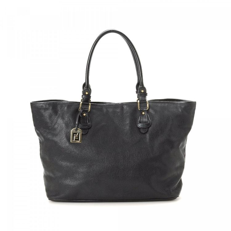 b97d9e9302 ... closeout fendi tote leather lxrandco pre owned luxury vintage c8ba5  00ef8 ...