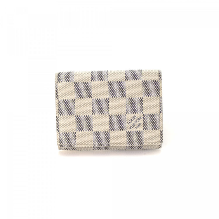 Louis vuitton business card holder damier azur coated canvas business card holder this product is in store at hudsons bay toronto reheart Gallery