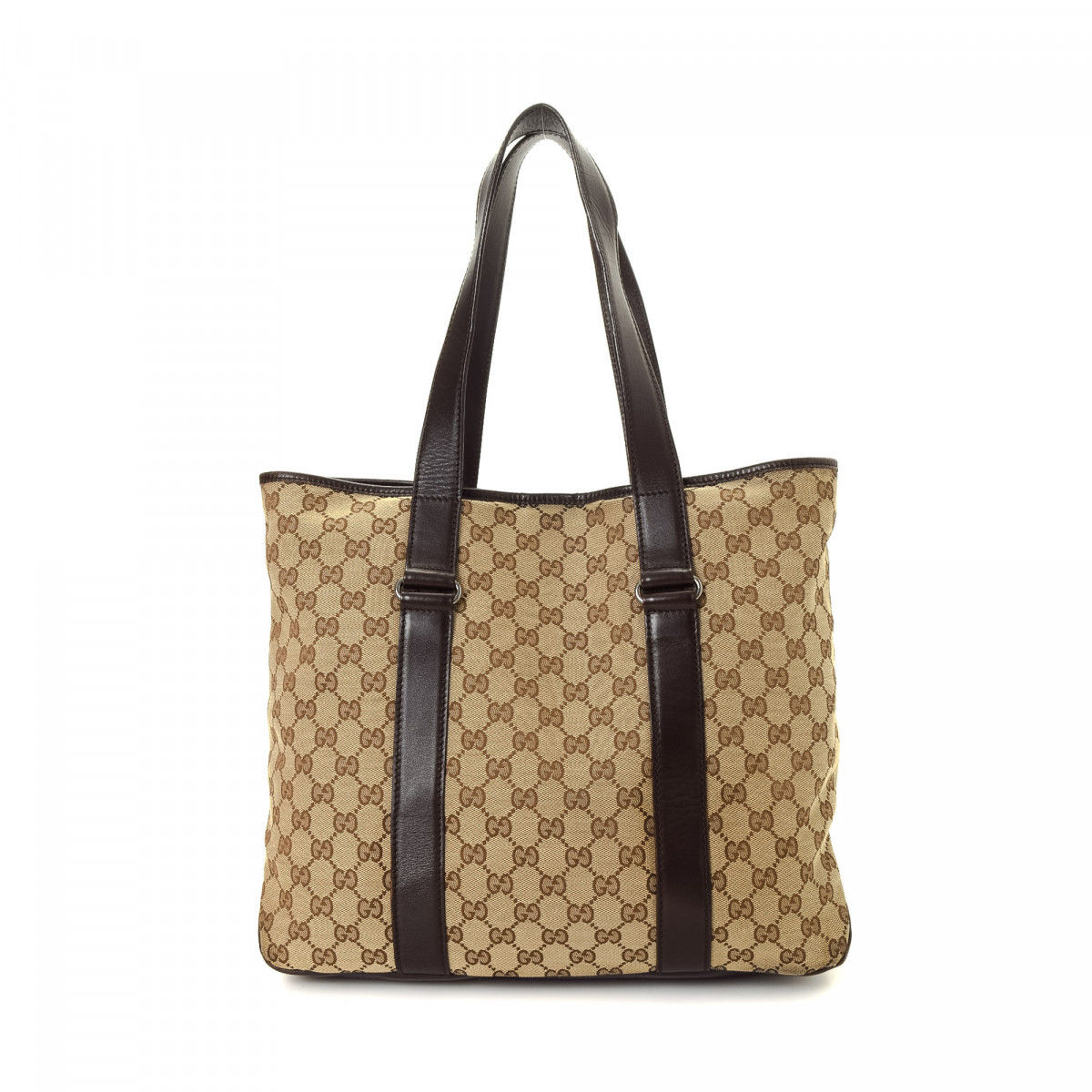 fb8a36c632c8 Gucci GG Canvas Tote Bag GG Canvas - LXRandCo - Pre-Owned Luxury Vintage