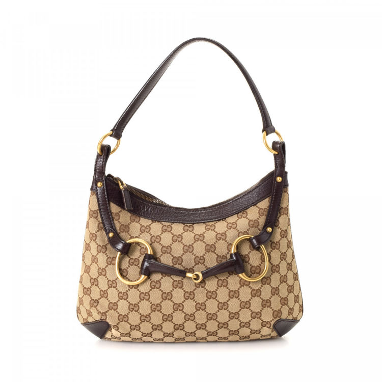 9937e31ef LXRandCo guarantees this is an authentic vintage Gucci Horsebit Hobo Bag  shoulder bag. Stylish purse. Good condition  (AB) Delivers in 5 to 10  business days