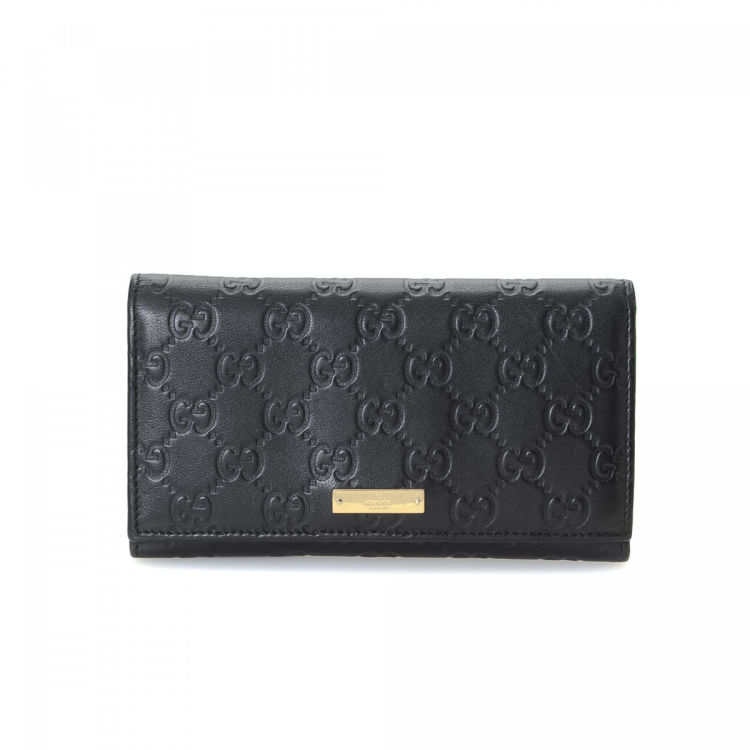 4f8f32433a01 Gucci Guccissima Continental Wallet Guccissima Leather - LXRandCo ...