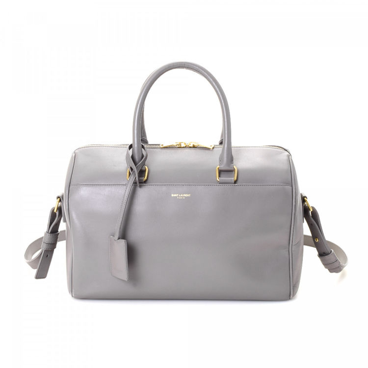 de4b35658850 Yves Saint Laurent Classic Duffle 6 Leather - LXRandCo - Pre-Owned Luxury  Vintage