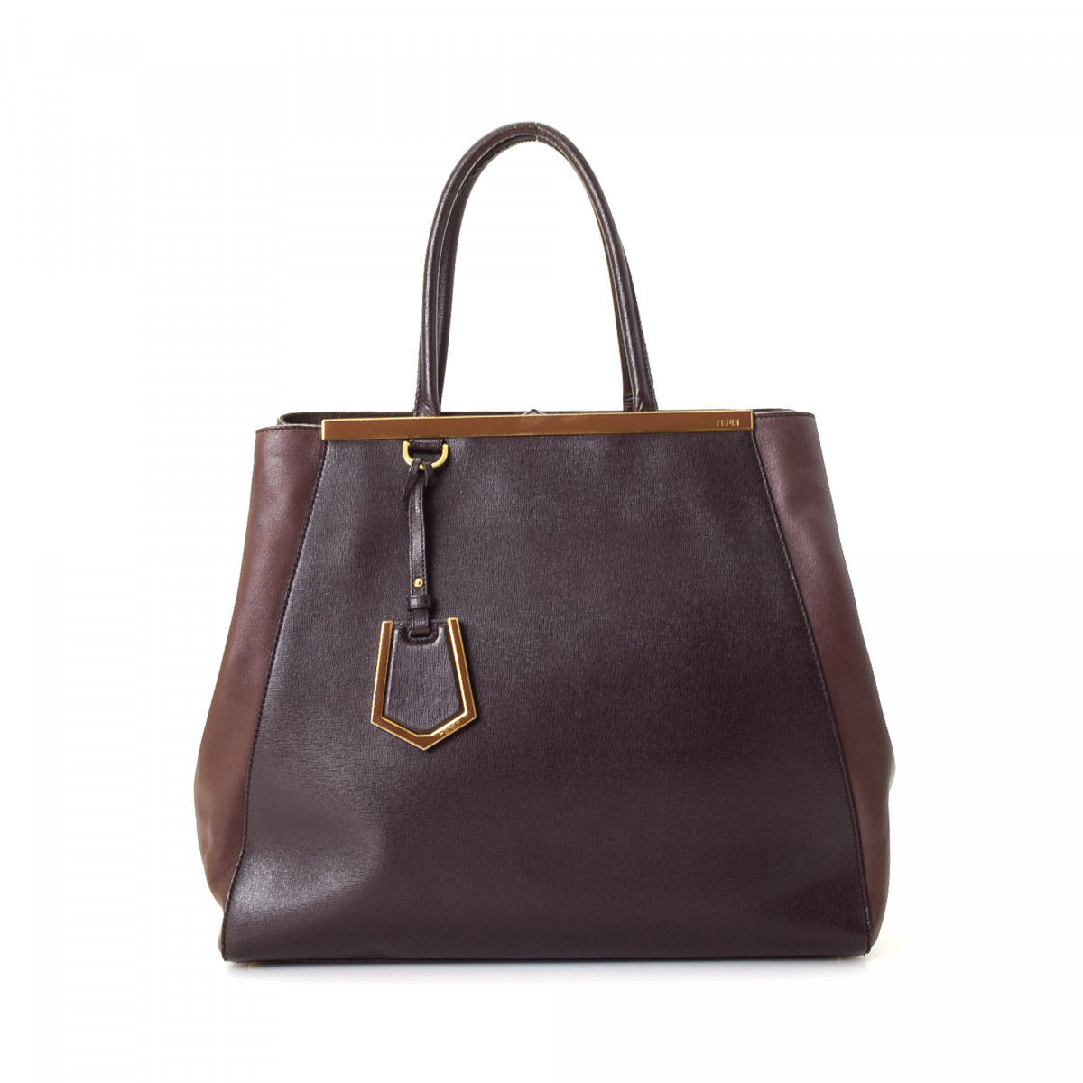 Pre-owned - 2jours leather bag Fendi vyFw38