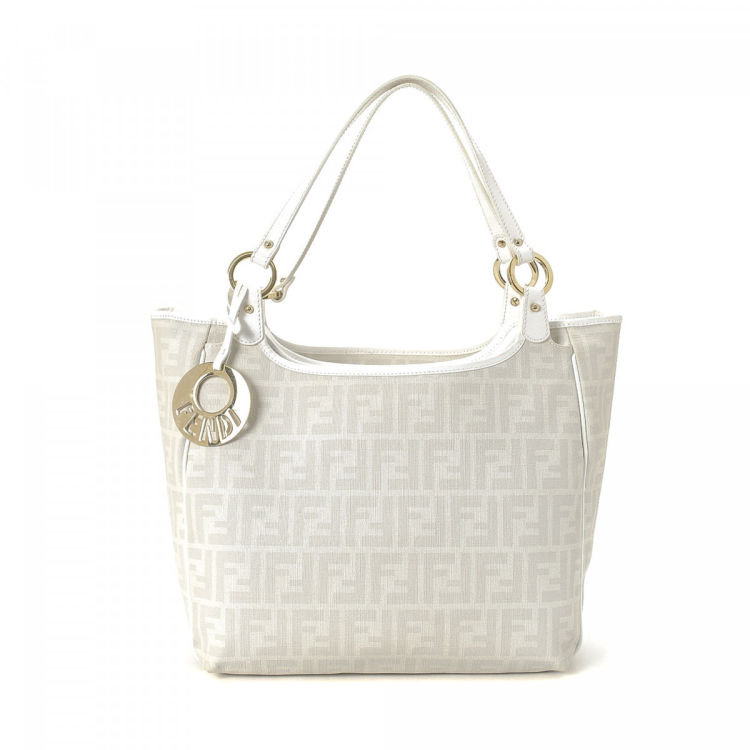 8318a0fdeee Fendi Chef Tote Zucca Coated Canvas - LXRandCo - Pre-Owned Luxury ...