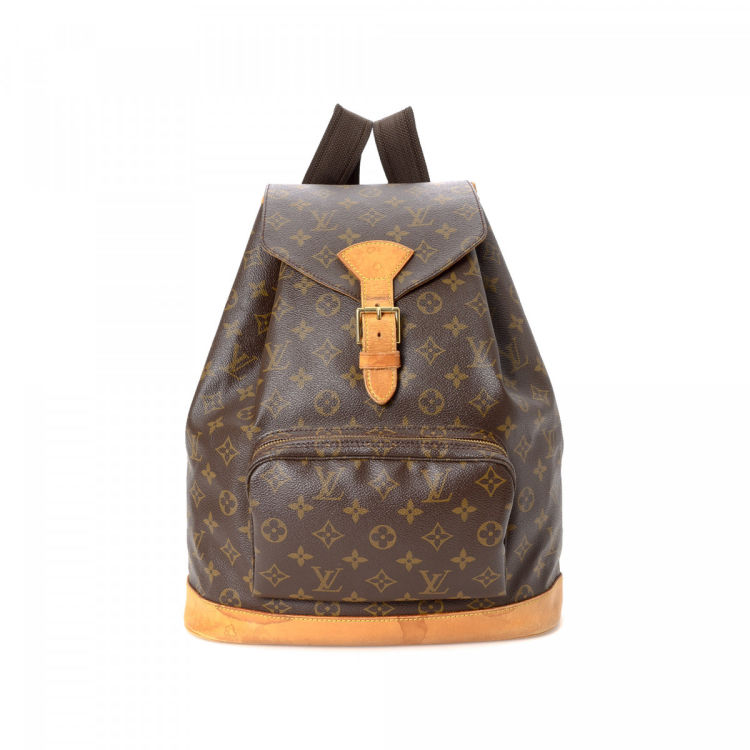 54aad065e600 Louis Vuitton Montsouris GM Monogram Coated Canvas - LXRandCo - Pre-Owned  Luxury Vintage