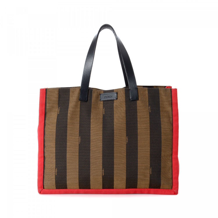 c15384805685 ... usa fendi pequin tote bag pequin canvas lxrandco pre owned luxury  vintage 76a5a f4f14