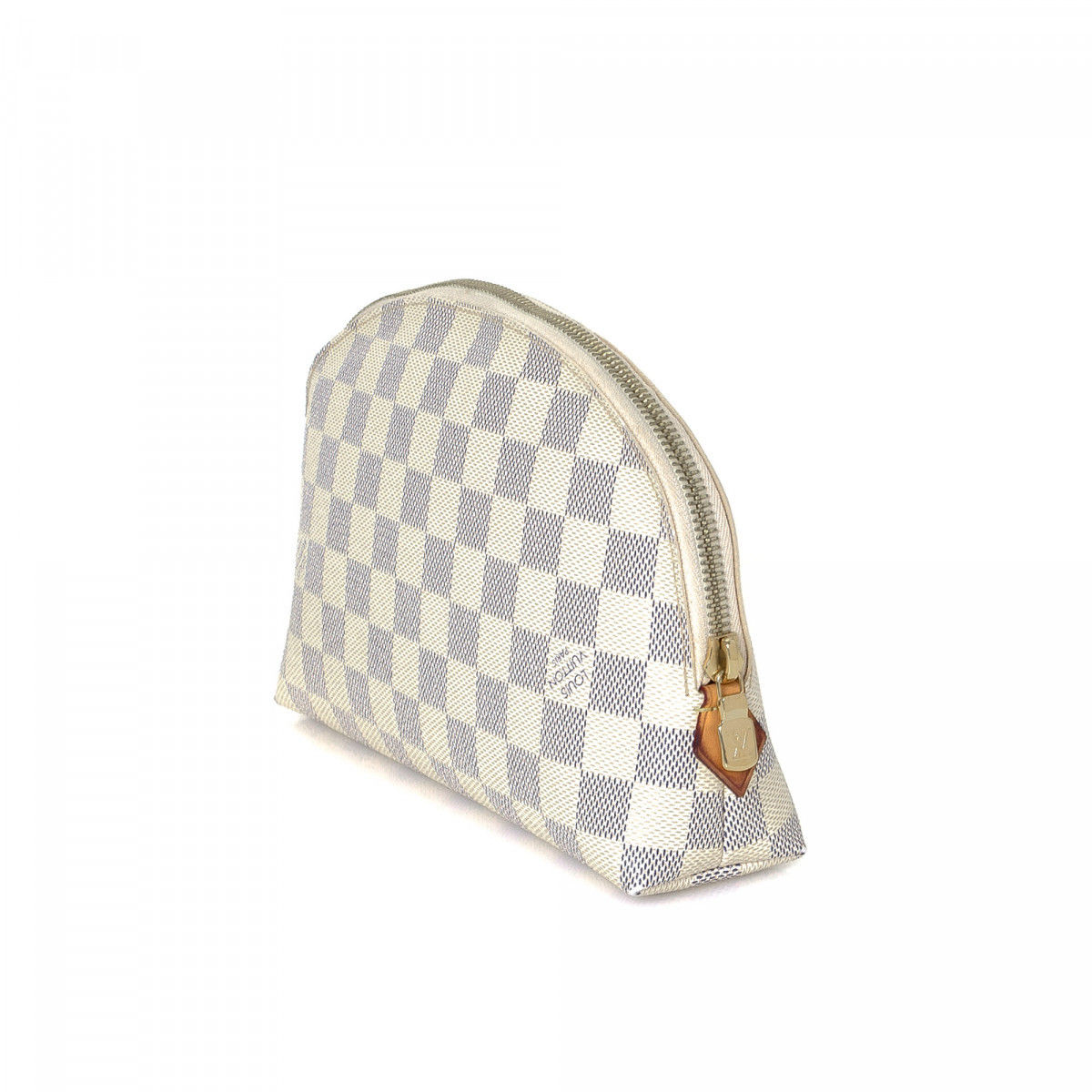 4edafb72717 Louis Vuitton Cosmetic Pouch GM Damier Azur Coated Canvas - LXRandCo ...