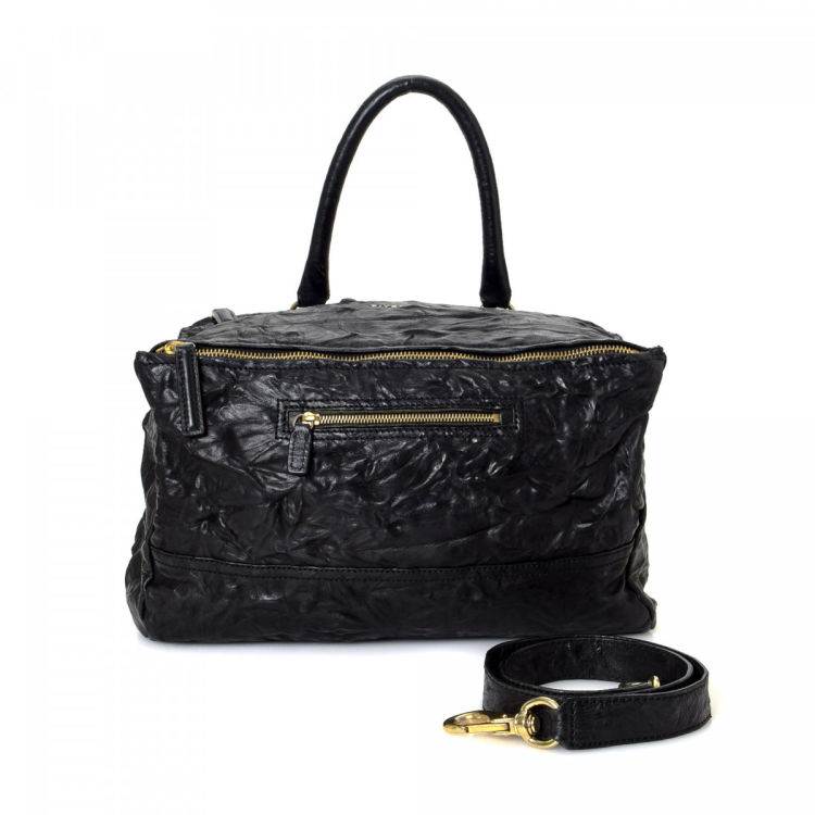 153f09e470 The authenticity of this vintage Givenchy Pandora shoulder bag is  guaranteed by LXRandCo. Crafted in leather