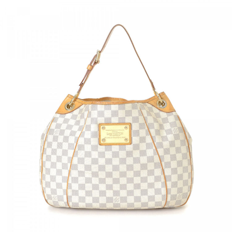 ac31fdc9589 Louis Vuitton Galliera PM Damier Azur Coated Canvas - LXRandCo - Pre-Owned  Luxury Vintage