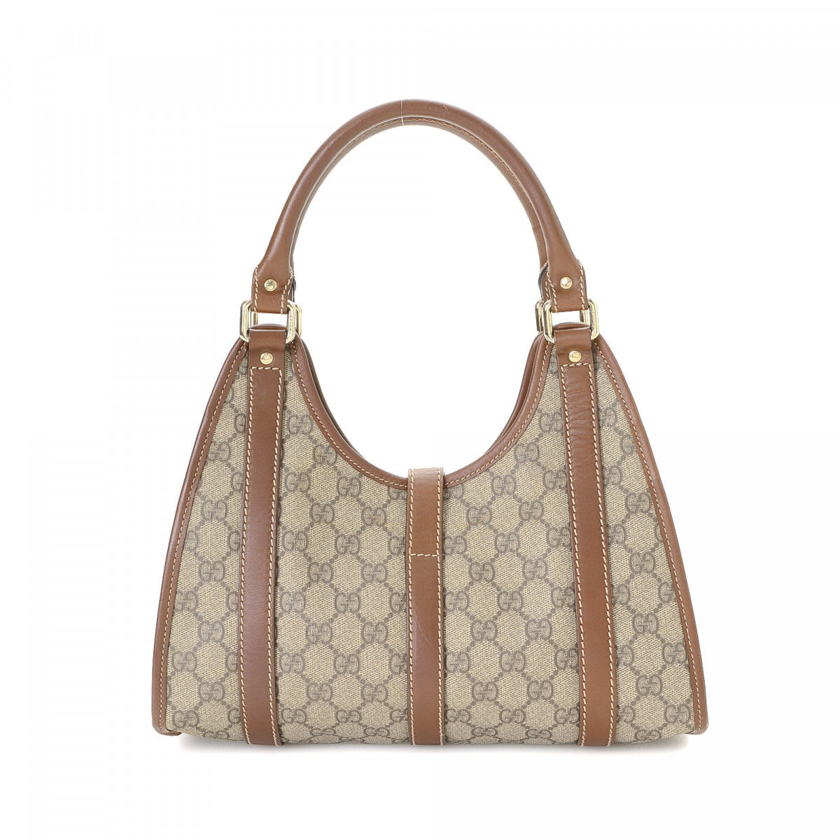 4458b8dd98b Gucci GG Supreme Bardot Shoulder Bag GG Supreme Coated Canvas ...
