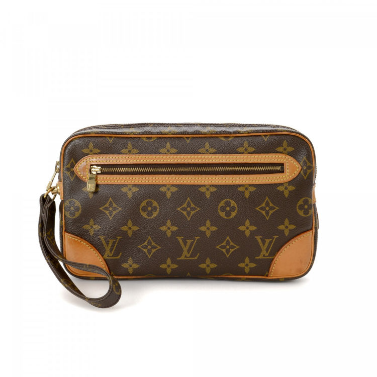 8ea62c252e0d Louis Vuitton Pochette Marly Dragonne GM Monogram Coated Canvas ...