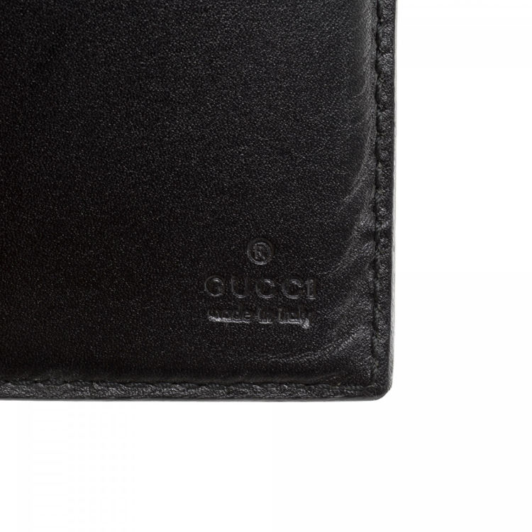 sneakers for cheap f8267 e9eec Guccissima Continental Wallet