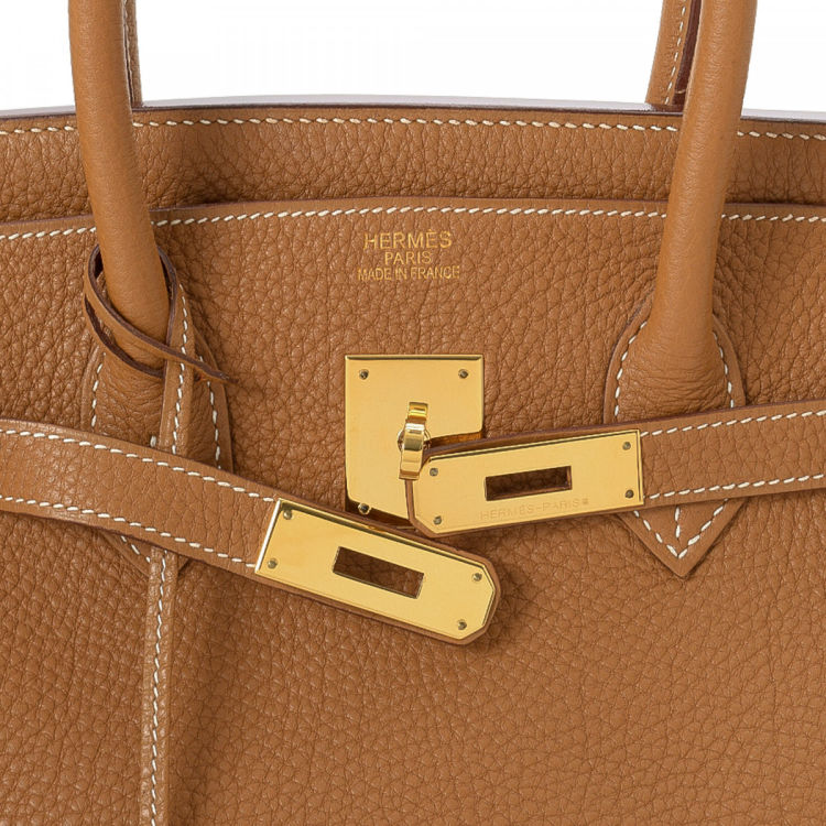 7bfd6ccfde0 ... authenticity of this vintage Hermès Birkin 35 Gold GHW handbag. Crafted  in togo calf