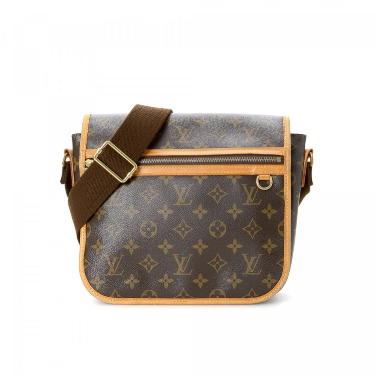 ... Louis Vuitton Messenger Bosphore PM messenger   crossbody bag is  guaranteed by LXRandCo. This chic crossbody was crafted in monogram coated  canvas in ... da23e8667e58b