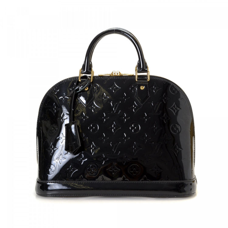 fa69662ad11e Louis Vuitton Alma PM Monogram Vernis Patent leather - LXRandCo ...