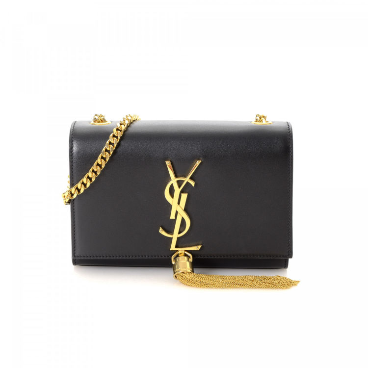 Yves Saint Laurent Kate Small Tassel Bag Leather - LXRandCo - Pre ... b173ed2bc42ae