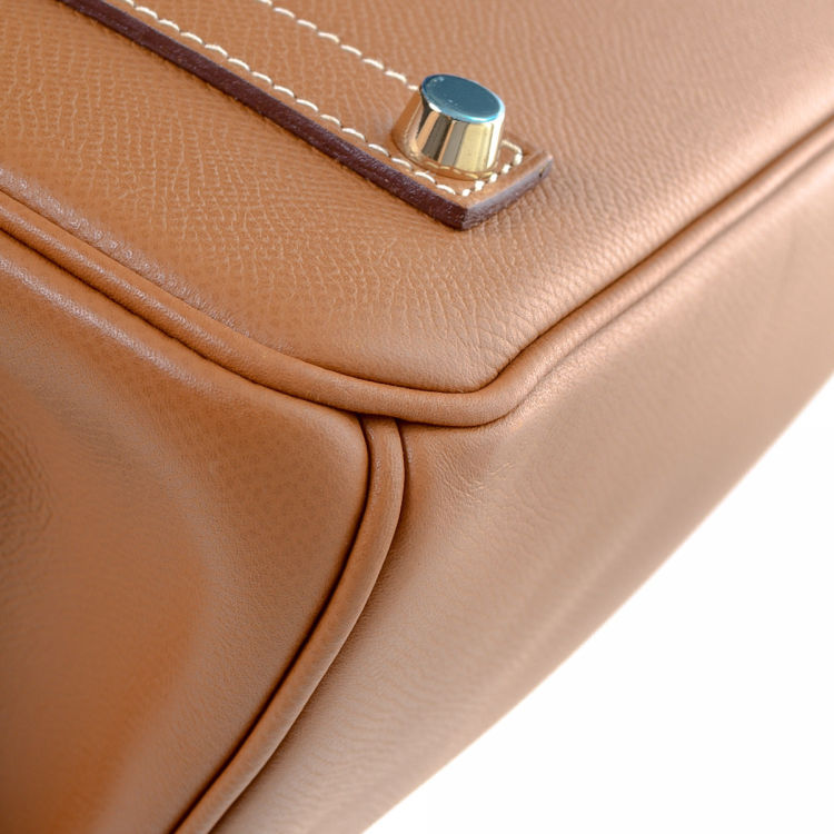 00f16db8980 LXRandCo guarantees this is an authentic vintage Hermès Birkin 35 handbag.  This classic handbag was crafted in epsom calf in hermes gold. Perfect  condition  ...