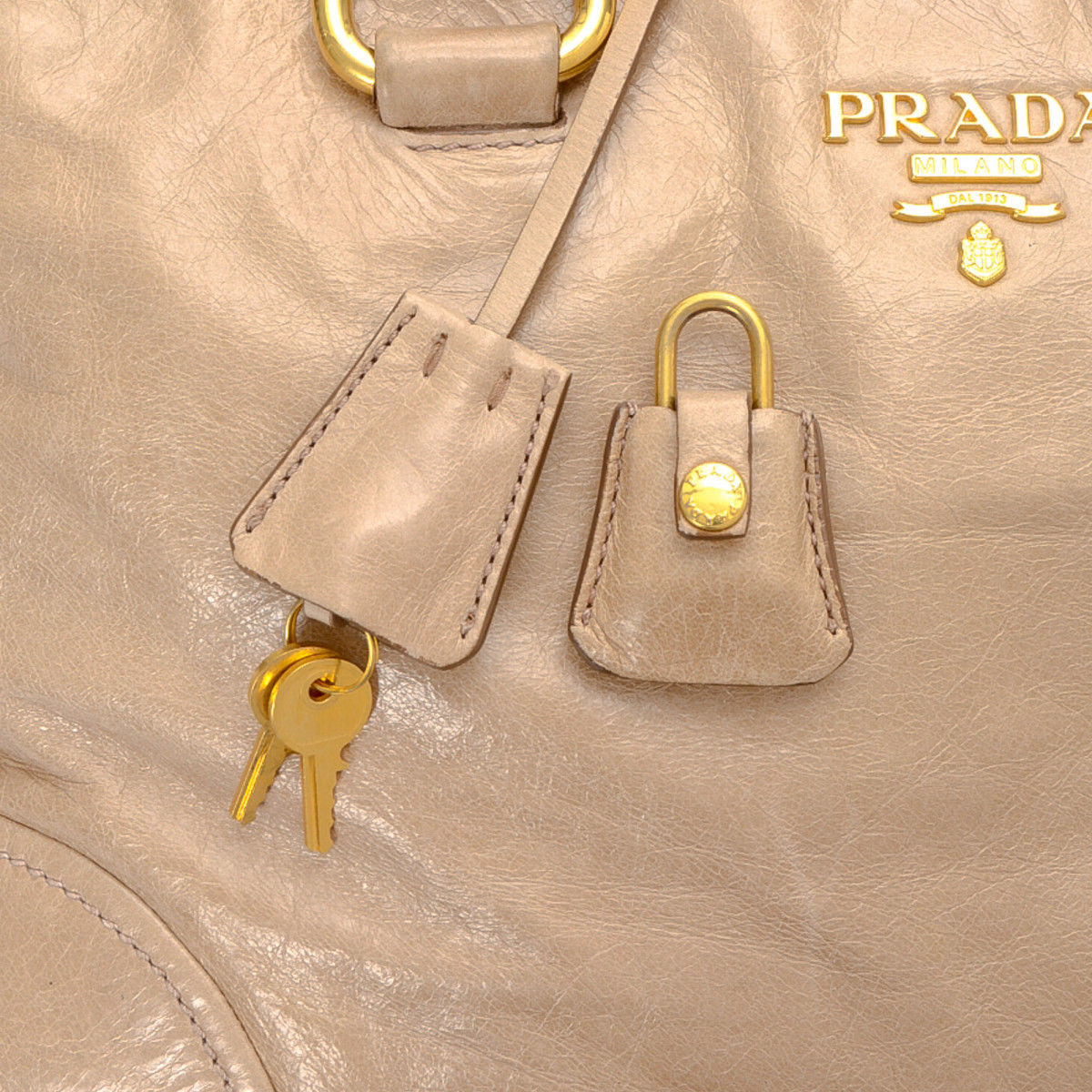 e9c1a129b63e Prada Two Way Handbag. Free Shipping. The authenticity of this vintage  Prada Two Way handbag is guaranteed by LXRandCo.