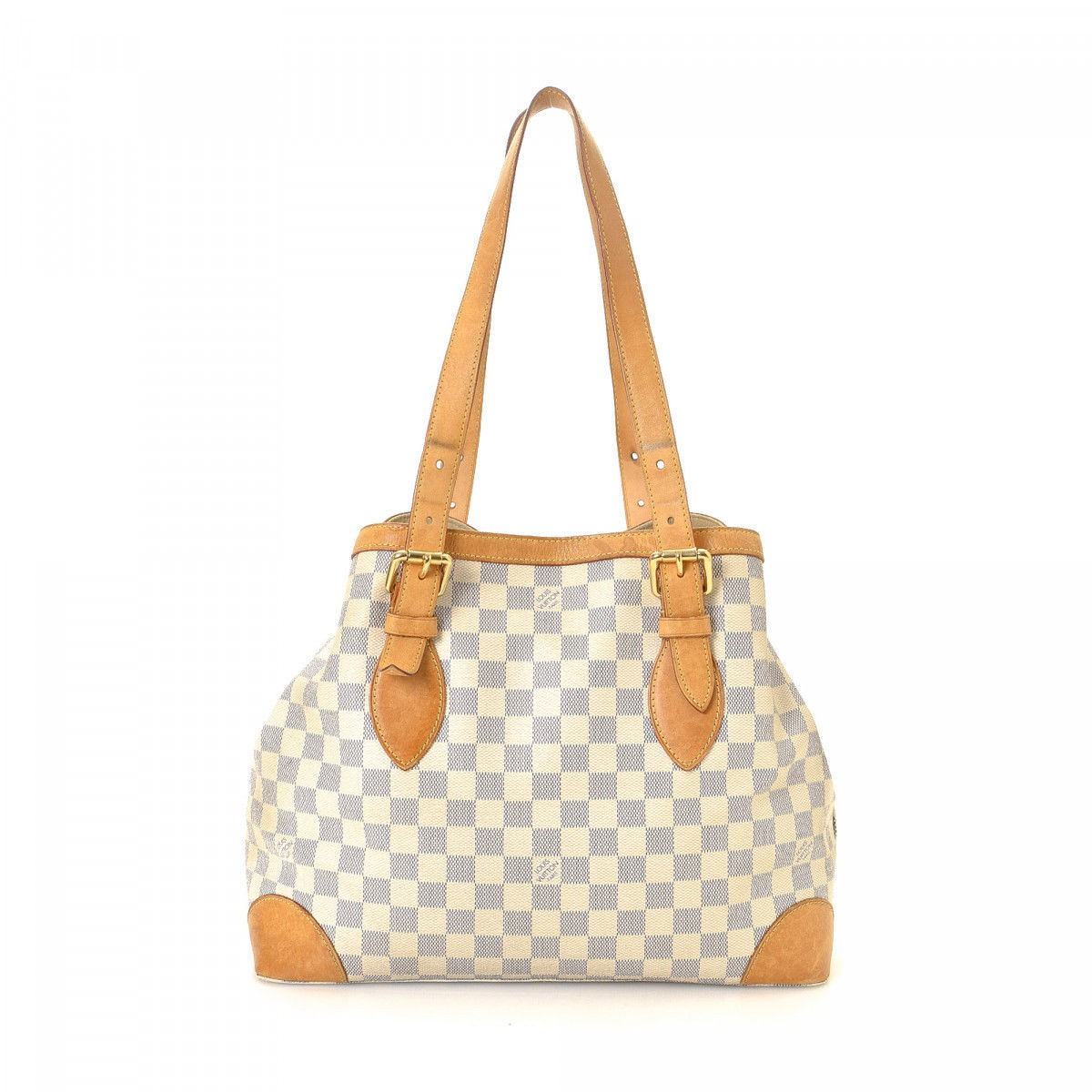 Louis Vuitton Hampstead MM Damier Azur Coated Canvas - LXRandCo ... ee0500e7e