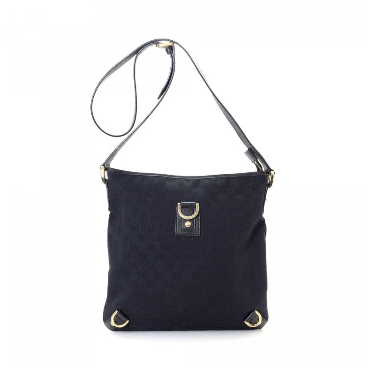 f0f0a2f2251 LXRandCo guarantees this is an authentic vintage Gucci Abbey Crossbody Bag  messenger   crossbody bag. Crafted in gg canvas