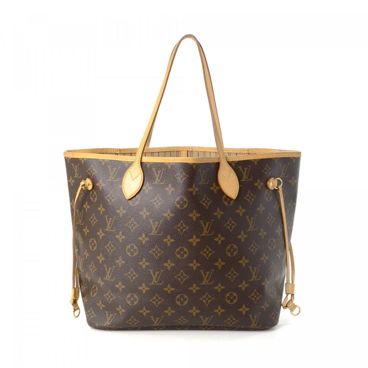 f026fd70d09e LXRandCo guarantees the authenticity of this vintage Louis Vuitton  Neverfull MM tote. This refined bag was crafted in monogram coated canvas  in beautiful ...