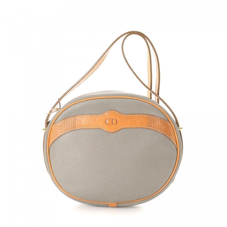 364192f9332c LXRandCo guarantees this is an authentic vintage Dior Crossbody Bag  messenger   crossbody bag. This beautiful messenger   crossbody bag in grey  is made of ...