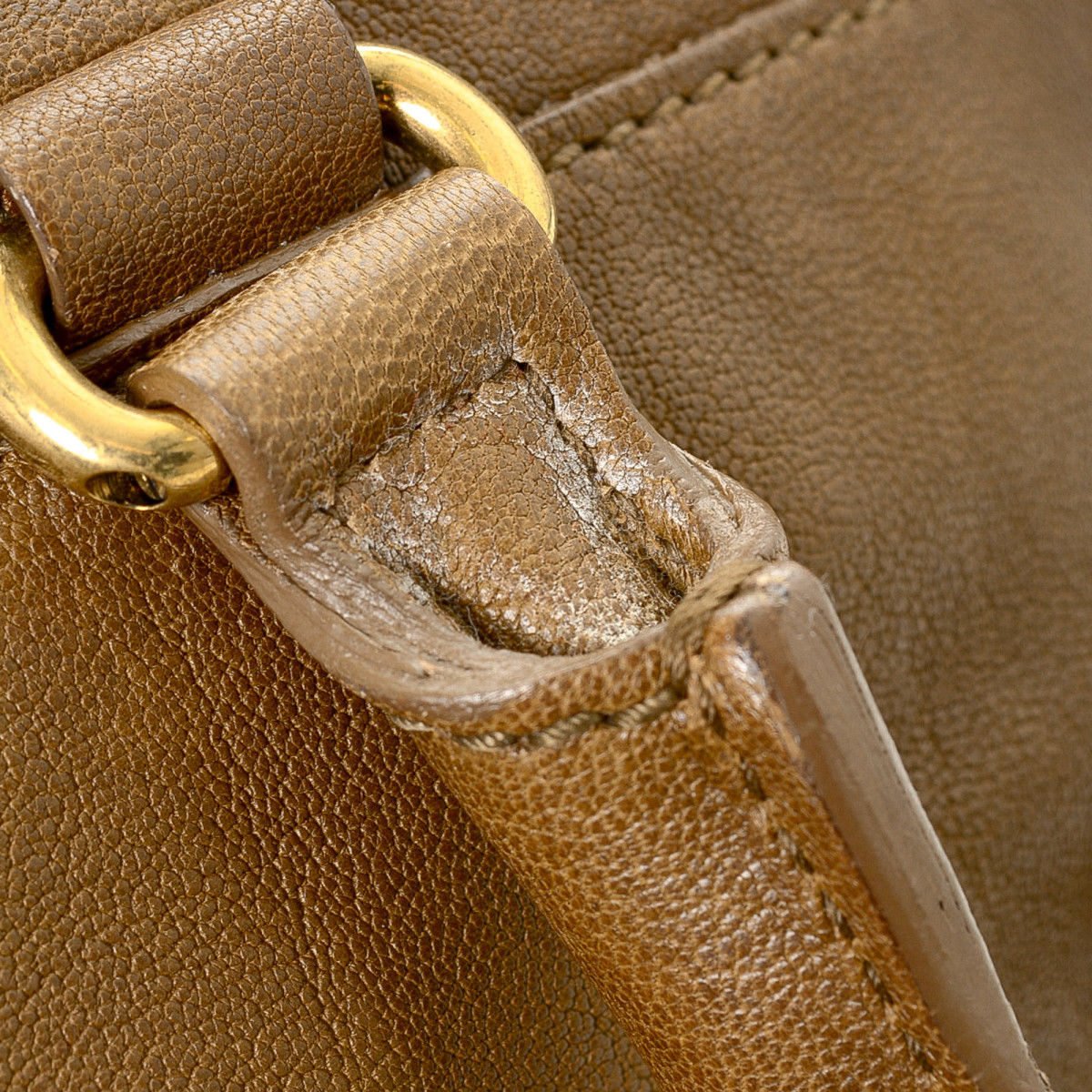 a5c4c9fa8036 Yves Saint Laurent Chyc Cabas Large Leather - LXRandCo - Pre-Owned ...