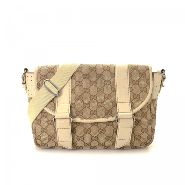 rich and magnificent size 40 latest sale GG Canvas Crossbody Bag