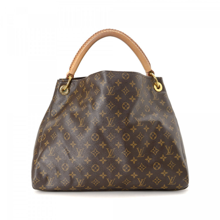 672da225f5a1 Louis Vuitton Artsy MM Monogram Coated Canvas - LXRandCo - Pre-Owned ...
