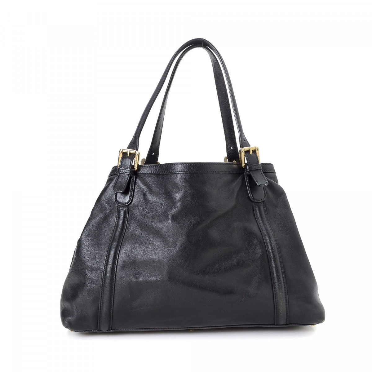 a71ff95849c Gucci Britt Tote. Free Shipping. The authenticity of this vintage Gucci  Britt tote is guaranteed by LXRandCo. This iconic tote bag comes in black  leather.